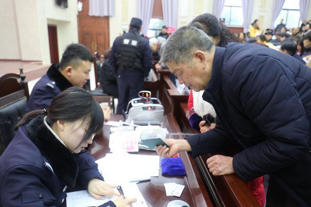 宁国1005名债权人喜领执行款130余万元
