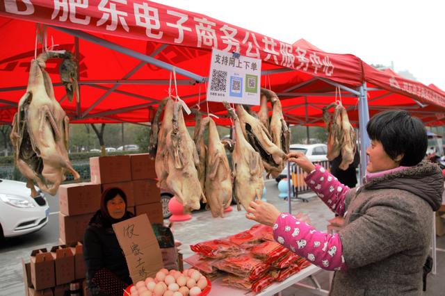 2020年肥东县电商扶贫O2O年货节开幕