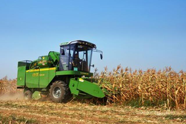 安徽省8县(市、区)农作物生产基本实现全程机械化