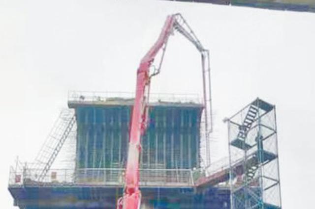 芜湖轨道交通2号线跨宁安铁路转体梁启动施工