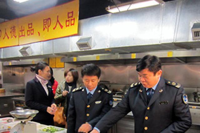 """池州69家承办""""年夜饭""""饭店接受食品安全检查"""
