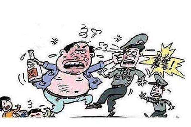安徽宿松警方快速反应 依法查处两起暴力袭警案