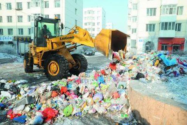 面对疫情做足防备 合肥确保春节期间垃圾清运 环境卫生