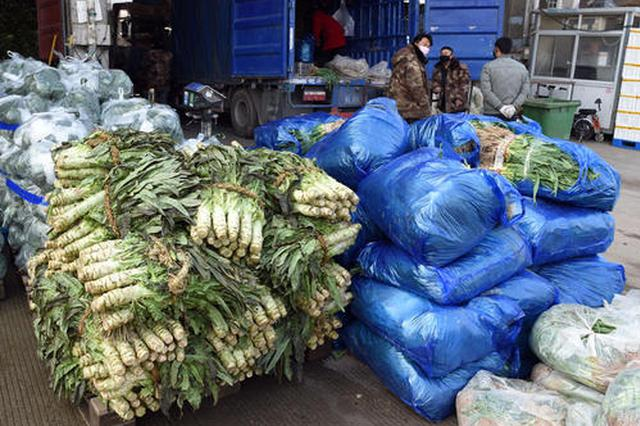 淮南市多措并举确保蔬菜市场供应充足