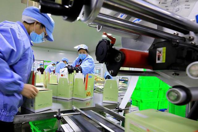 庐江:食品企业复工复产保供应