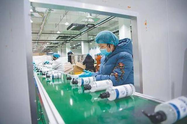 滁州市四成规上工业企业复工复产