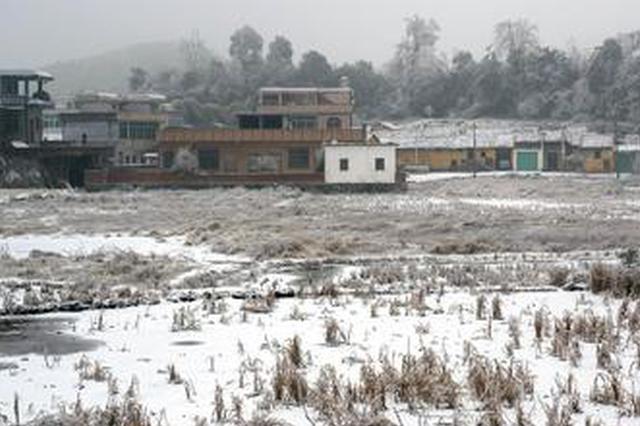 今冬最强寒潮影响安徽 气温最多可跌12℃