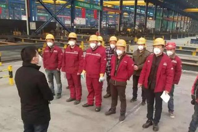安徽40小时赶制2000件钢构件 援建雷神山医院