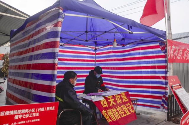 """宿州埇桥区:31个临时党支部筑起""""红色堡垒"""""""
