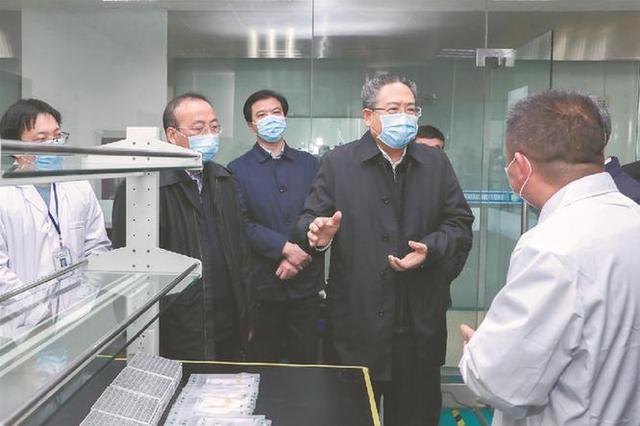 李锦斌深入滁州调研督导疫情防控和企业复工复产工作