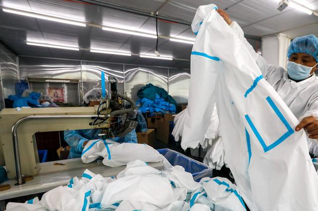 合肥:复工迅速 开足马力确保医疗防护品供应