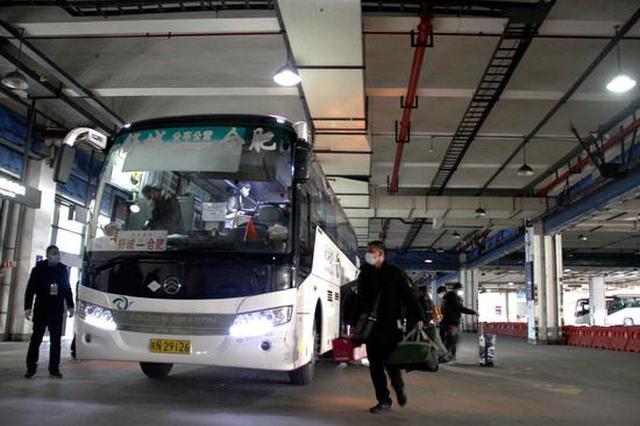 安徽省内多地市正逐步恢复市际、县际客运班线