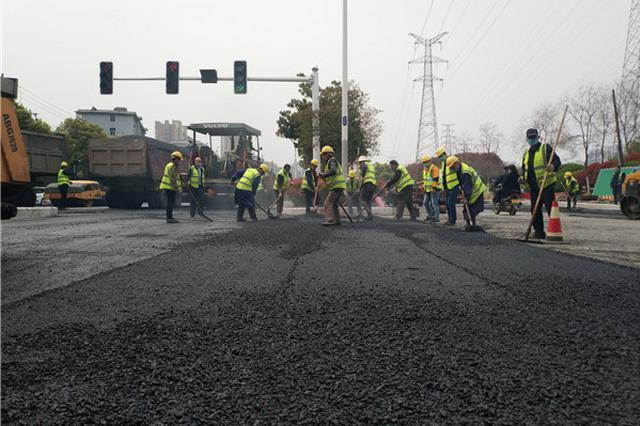 合肥合作化路休宁路交口堵点改造22日完工通车