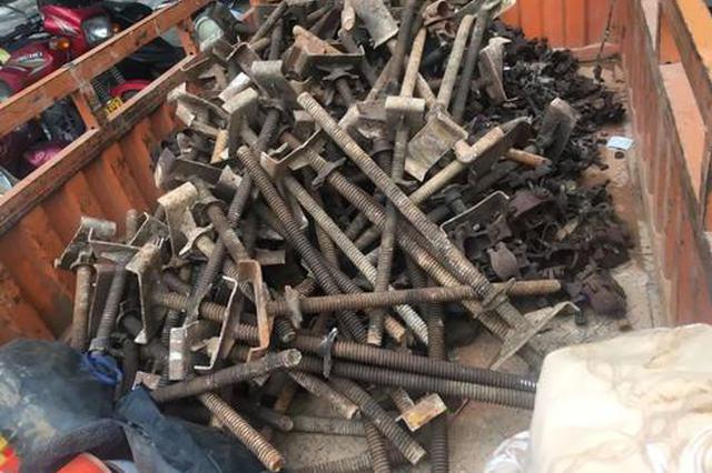 打工为假盗窃是真 三男子狂偷20万装修建材