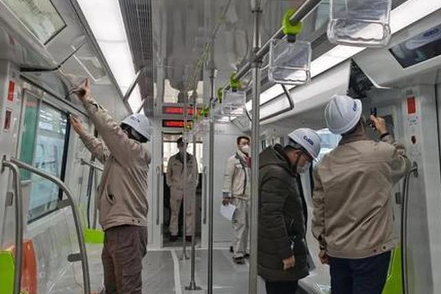 合肥地铁5号线第三列车通过出厂验收