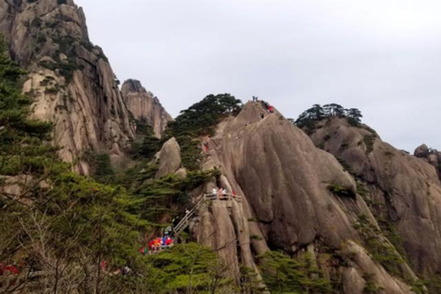 清明小长假第三天 黄山风景区优化管理措施