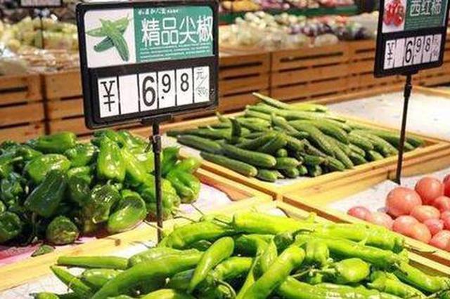 一季度安徽居民生活必需品价格同比上涨16.74%