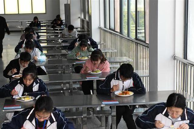 安徽金寨:大山学子复课备考