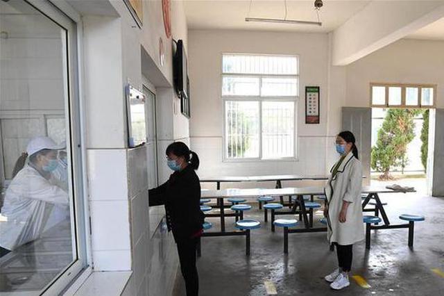 安徽肥西:校园防疫演练备开学