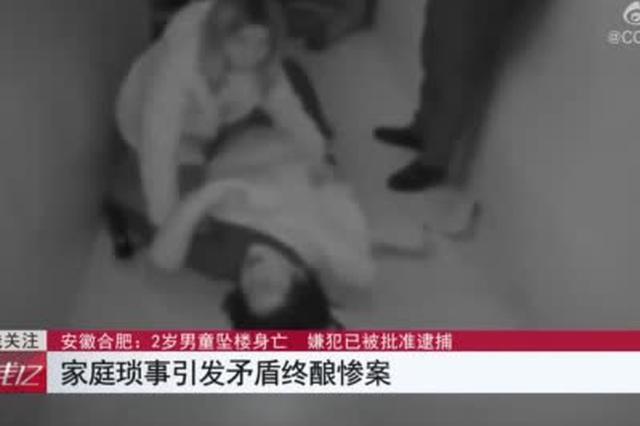 安徽合肥:2岁男童意外坠楼 嫌犯竟是嫌犯生母