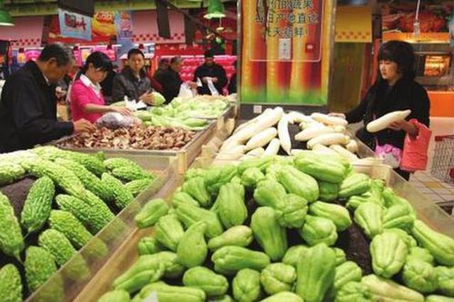 5月份安徽居民生活必需品价格环比下降3.39%