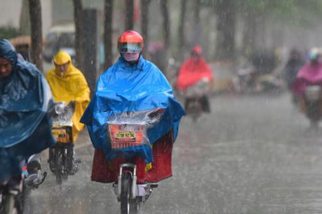 降水光顾我省南部 局部大雨