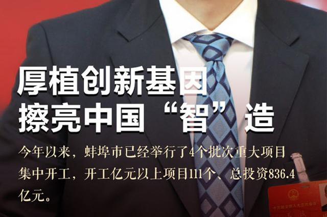 """全国人大代表王诚:厚植创新基因 擦亮中国""""智""""造"""