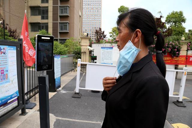 蜀山区首家小区人脸识别系统与公安联网