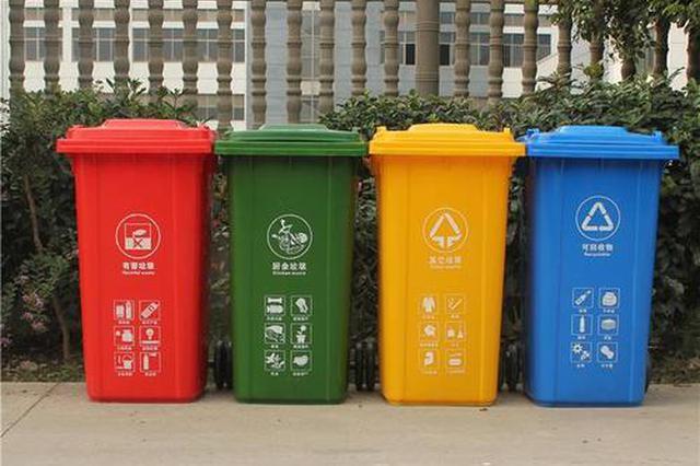 """最新 安徽省城市垃圾分类明确""""时间表"""""""