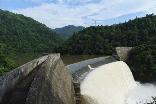 淮河流域部分水库水位超汛限