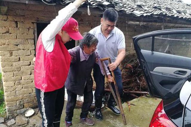 安徽岳西遭遇连续强降雨 已转移安置群众2316人