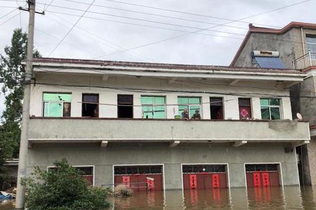 六安5个行政村发生内涝:9450人受灾 经济损失2600万