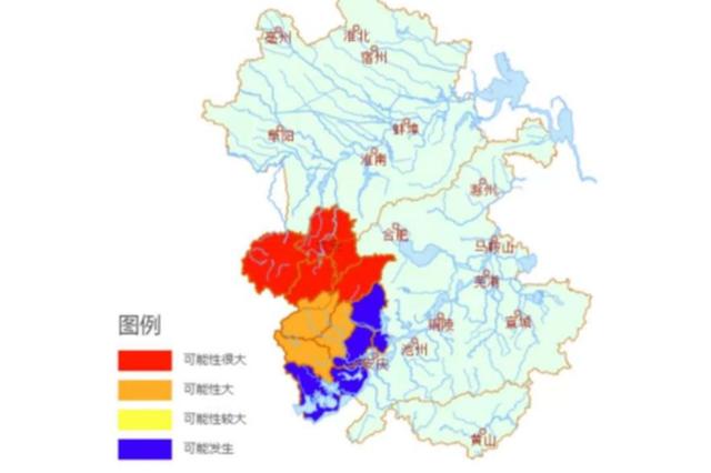 注意!28日安徽这些地方山洪灾害红色预警