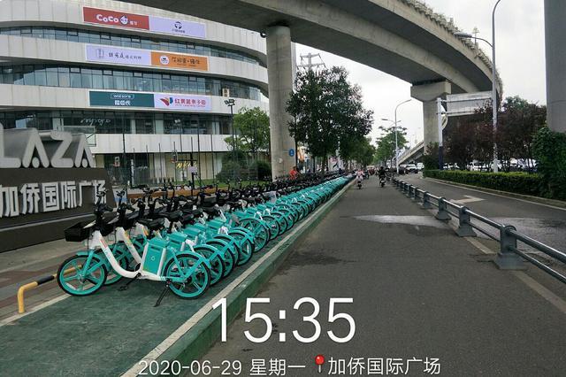 立规矩:共享单车分区停放 运维人员定时打卡