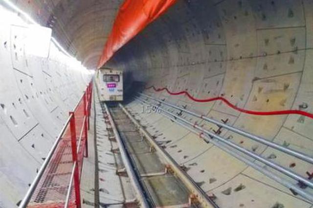 合肥地铁5号线盾构量已完成7成