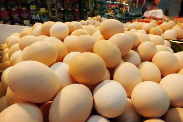 上半年安徽鸡蛋价格持续走低