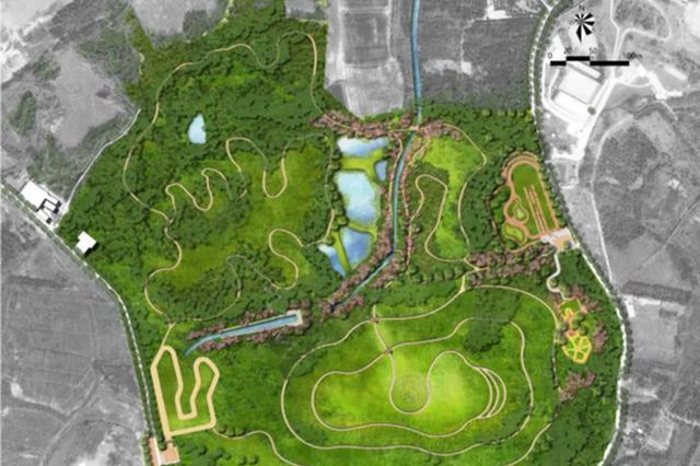 合肥城西拟建一专业骑行公园