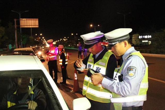合肥交警发布6月份酒驾 醉驾名单