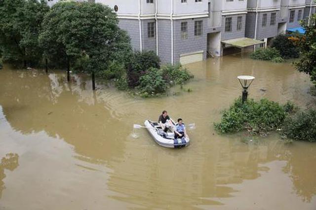 持续强降雨导致安徽省994.6万人受灾