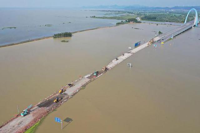 环巢湖大道庐江兆河大桥段抢通 预计今日可通车