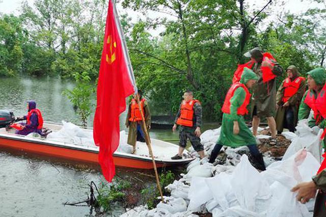 """安徽高速抢险进行时:筑起""""强堤坝"""" 畅通""""大动脉"""""""