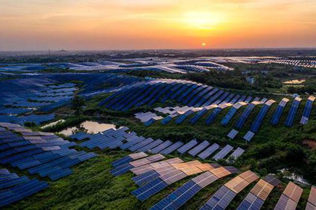 安徽光伏规模位列全国第五 成全省第二大电源
