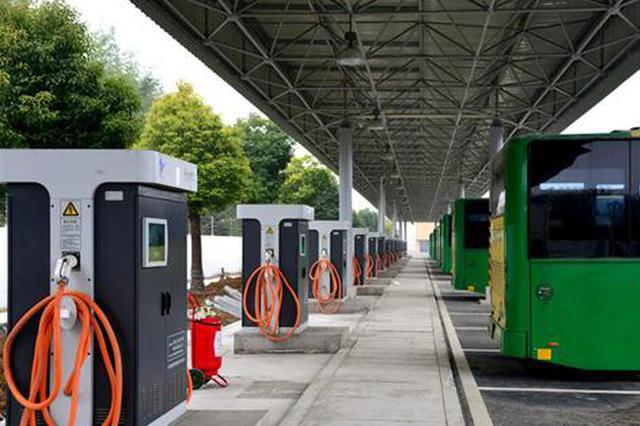 合肥公交充电桩可满足1500台纯电动公交车充电需求
