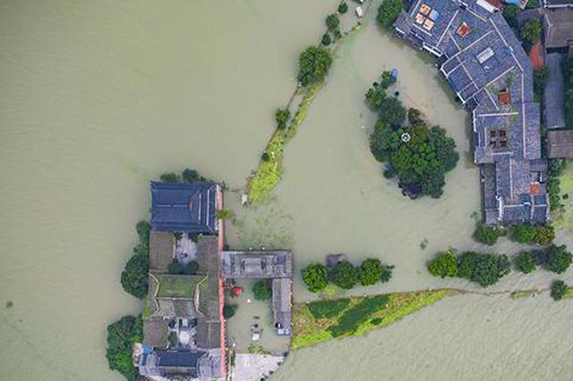 """巢湖超警戒水位40余天 合肥这样书写""""人民至上""""答卷"""