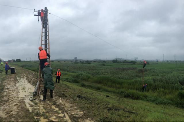 风雨无阻 马鞍山联通用行动抢修光缆保通信