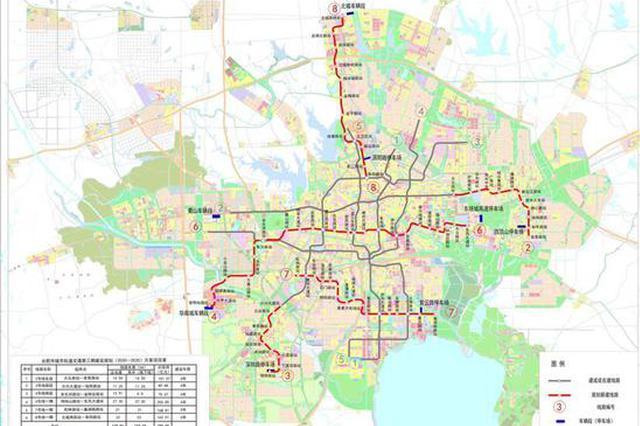 合肥地铁4号线南延线、6号线一期工程可行性研究报告获批