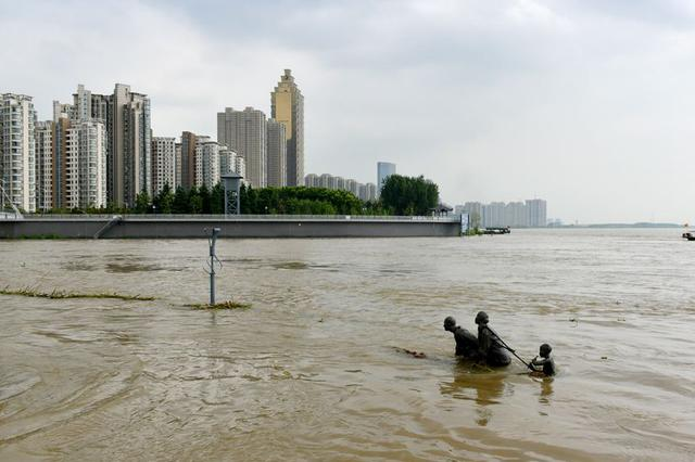 受降水影响 淮河干流主要控制站水位复涨