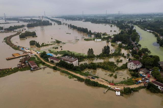 庐江县石大圩8月15日开始复堤 月底前完成堵口