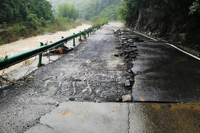 安徽省普通干线公路水毁经济损失约191070万元
