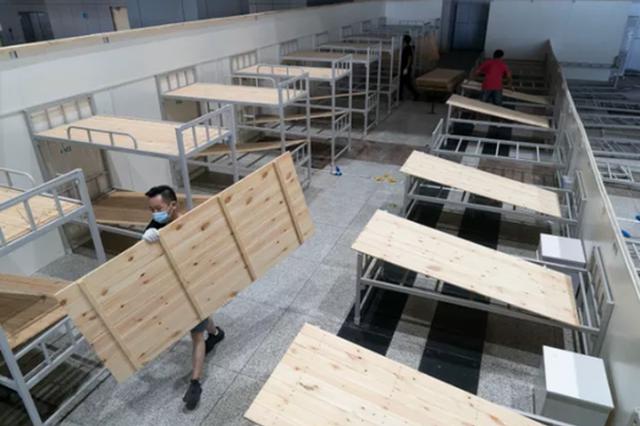 武汉江汉方舱医院正式关舱拆除